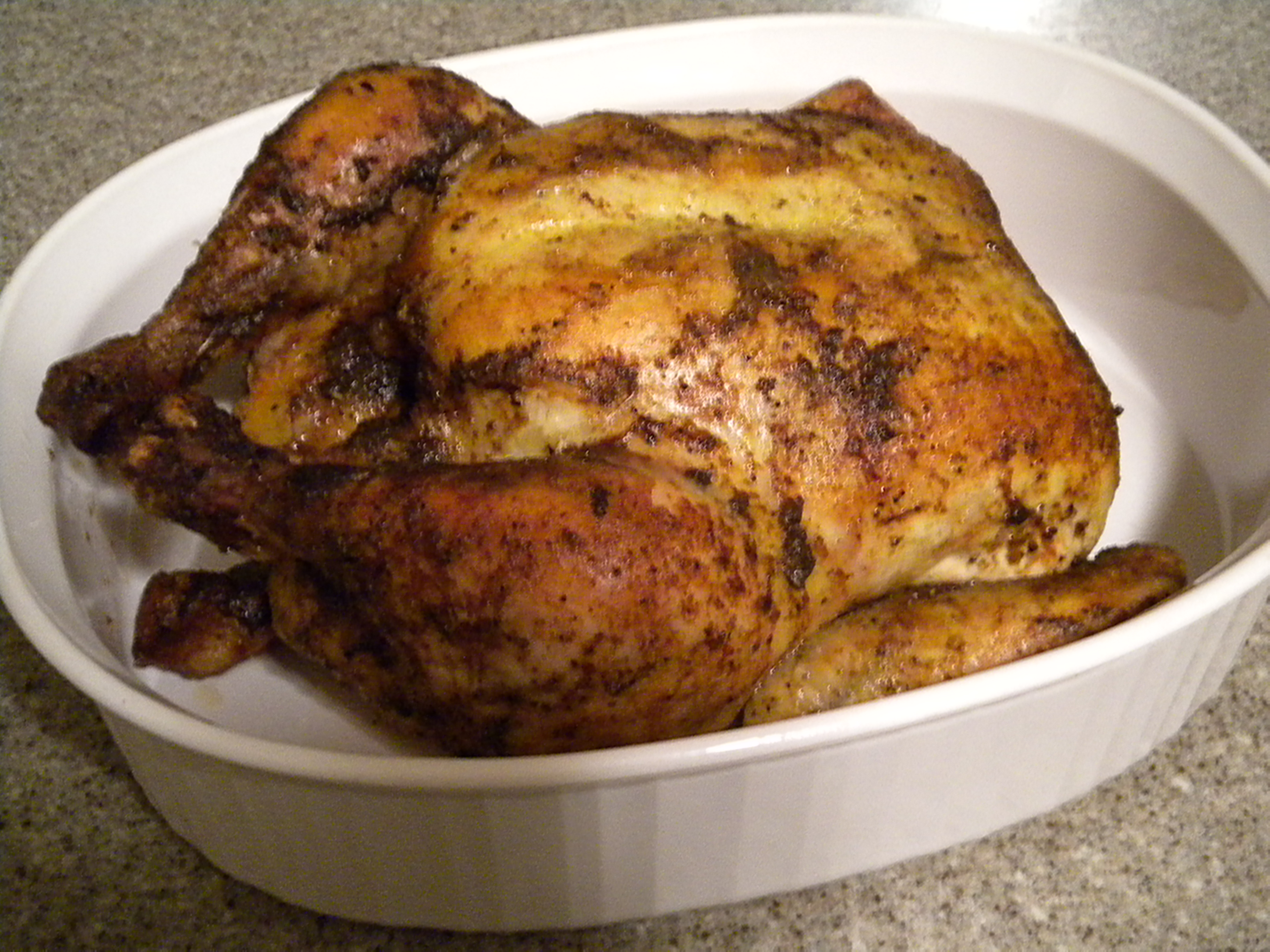 Slow Roasted Lemon Chicken
