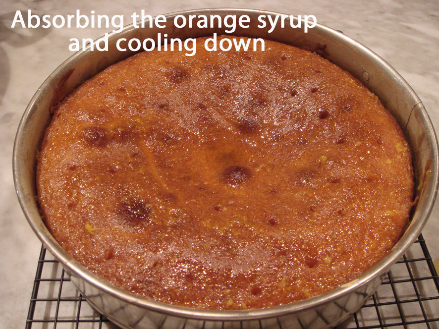Orange Cake - My mother's recipe