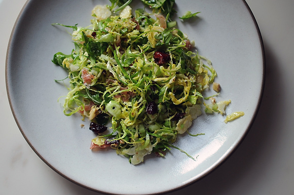 brussels sprout salad from food52