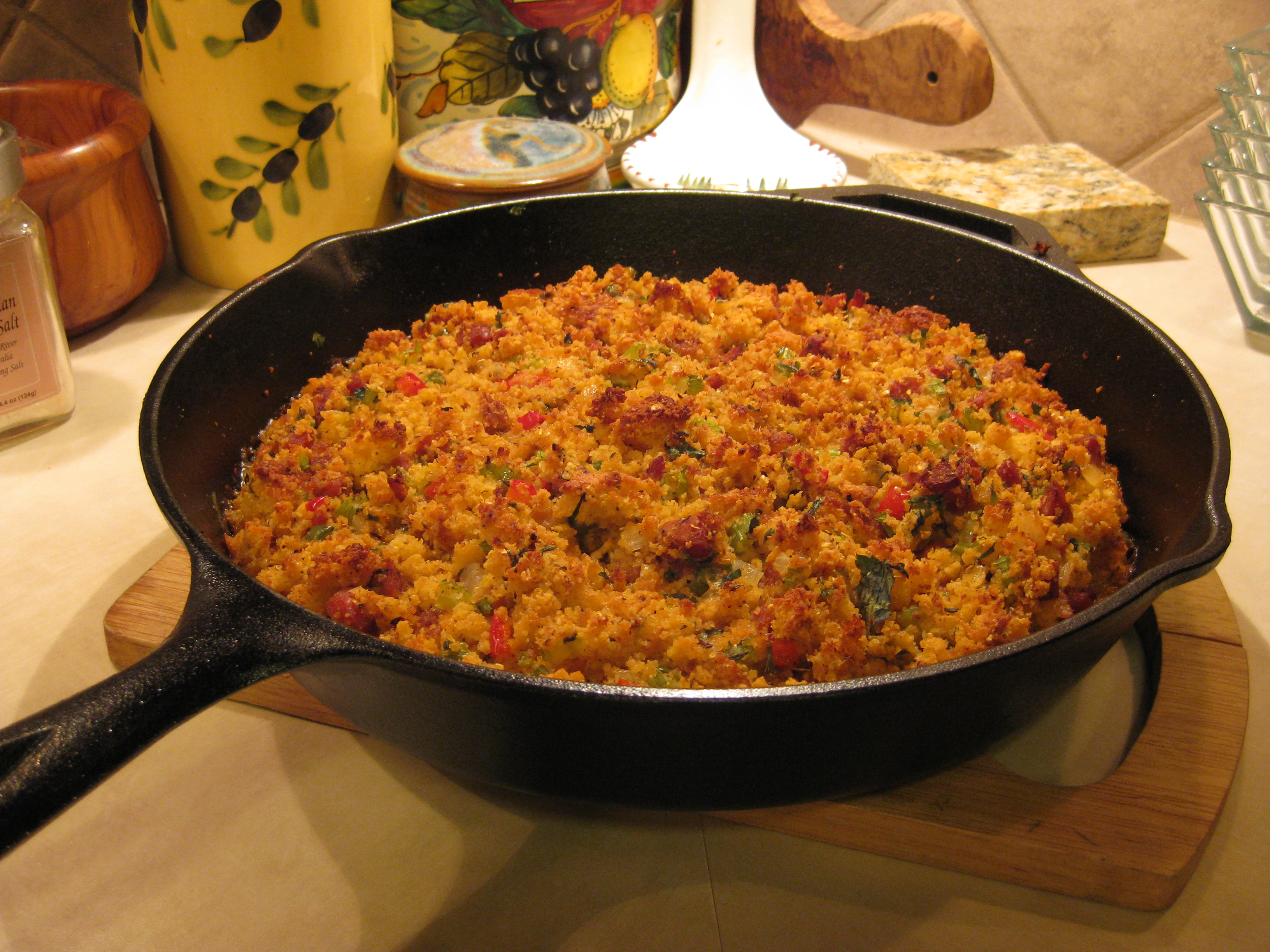 Crescent City Cornbread Dressing