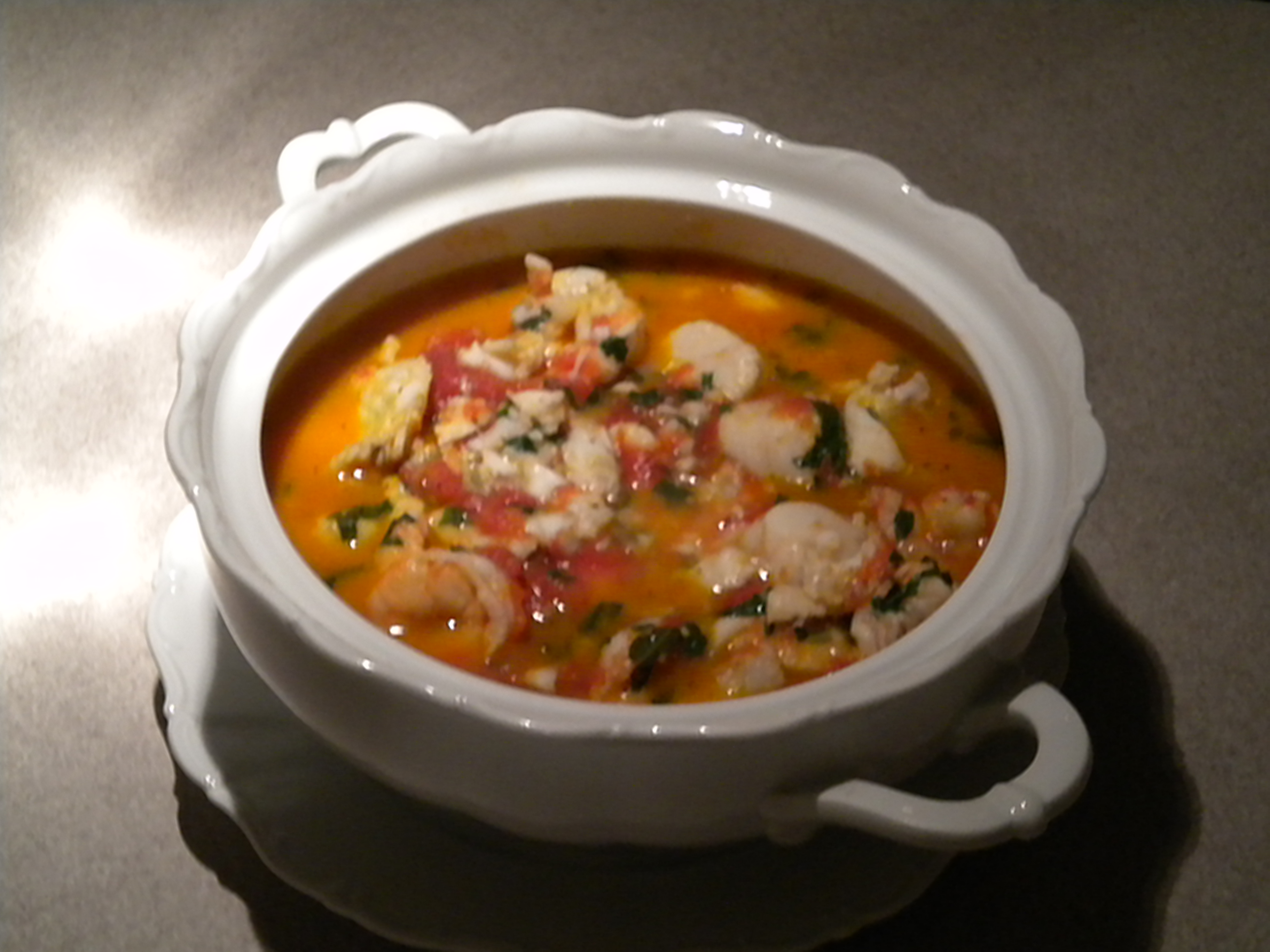 Dad's Favorite Seafood Stew