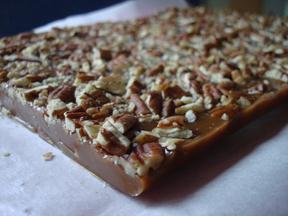 Rosemary-caramels