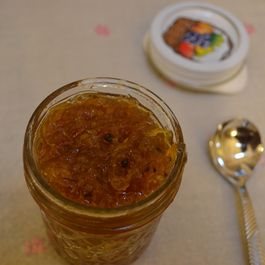 Jayasree Satish's 3 ingredient Mango relish