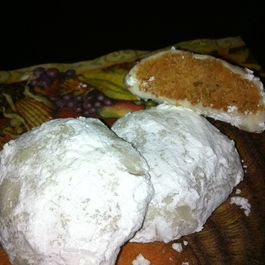 Crunchy Burnt Sugar Snowball Cookies