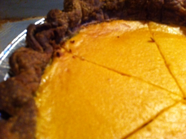 Butternut Squash Pie with Buckwheat Crust