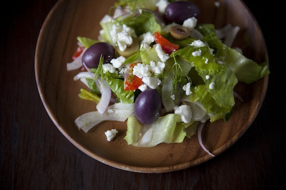 Greek Salad with Fennel