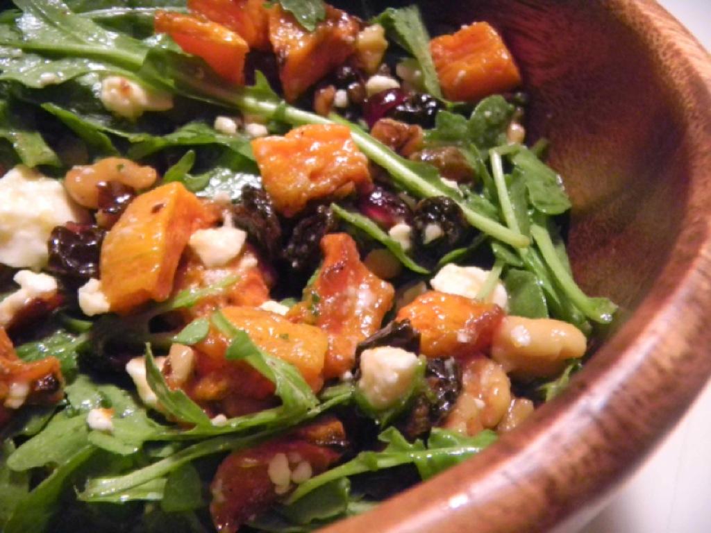 Ina Garten Cape Cod Chopped Salad Roasted Butternut Squash Salad Recipe On Food52