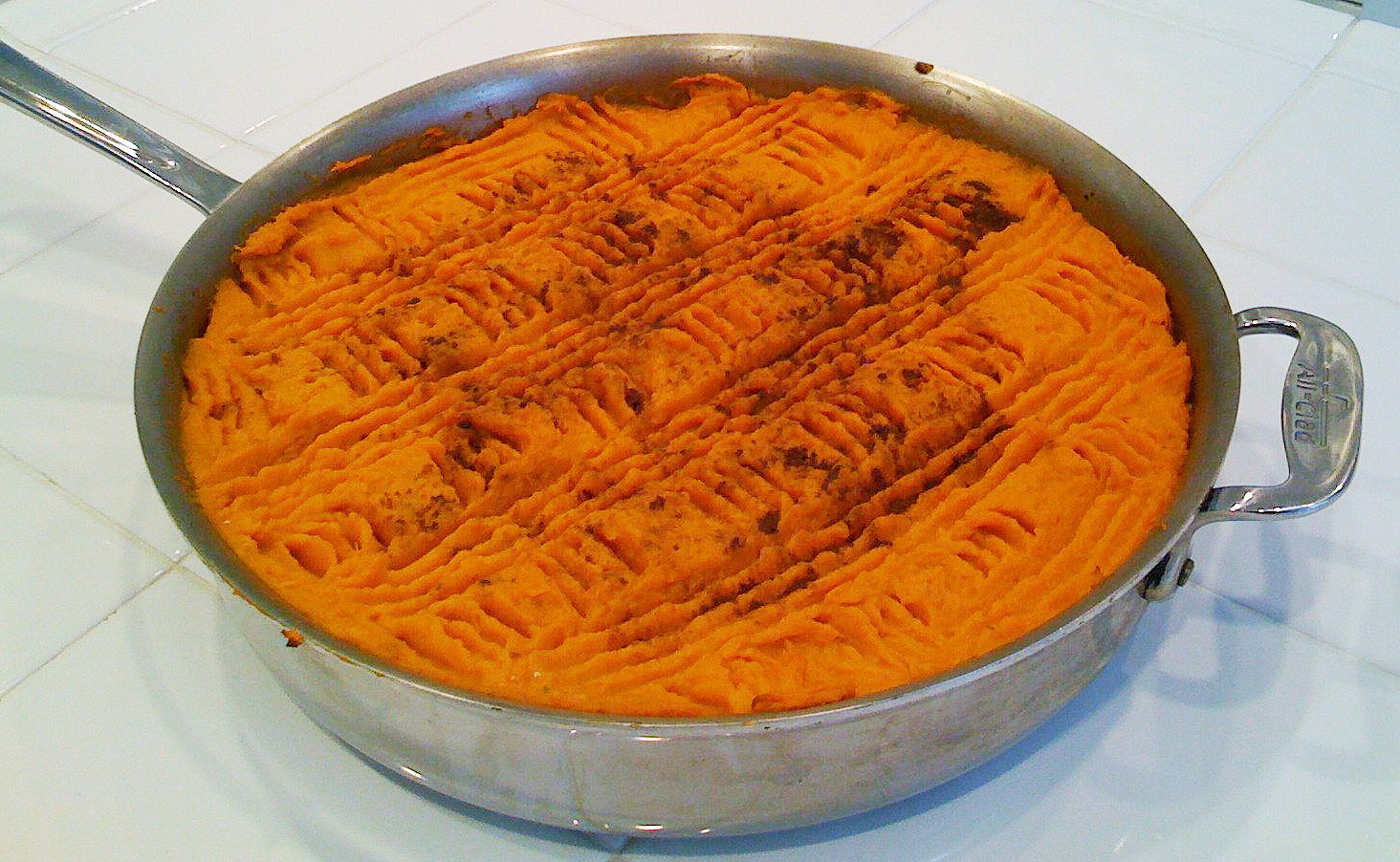 Sweet Potato Shepherds Pie
