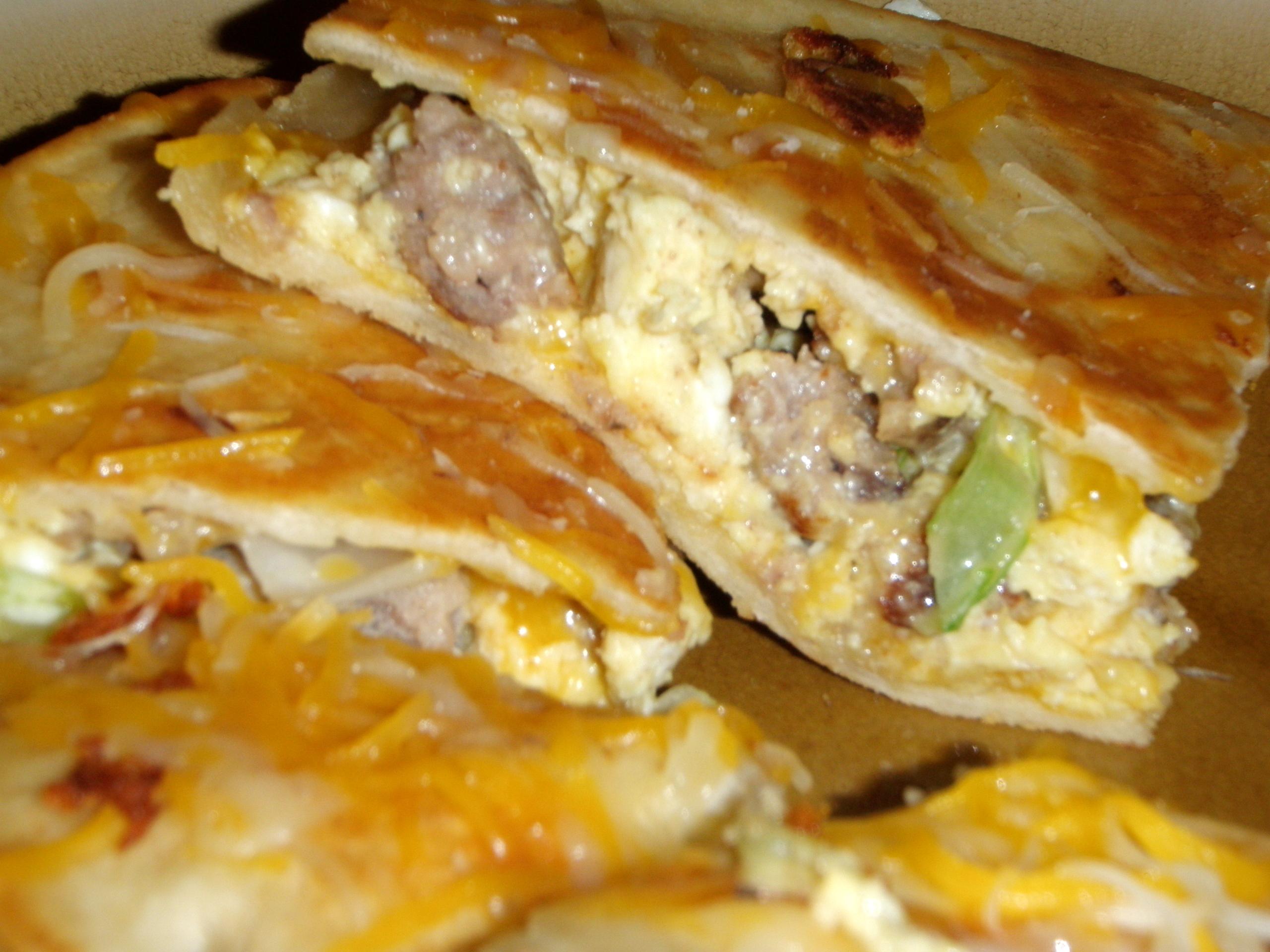 Hearty Breakfast Quesadillas