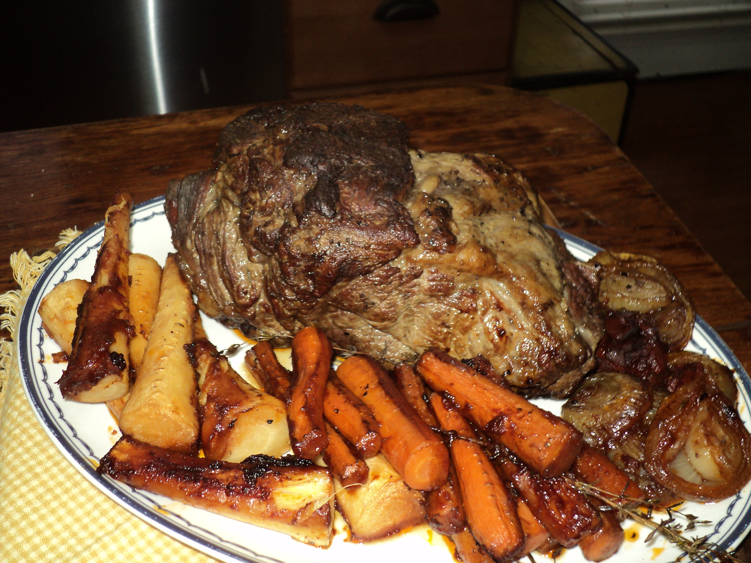 "Sunday Supper-part 2  ""Beef Pot Roast"" with crispy potatoes"