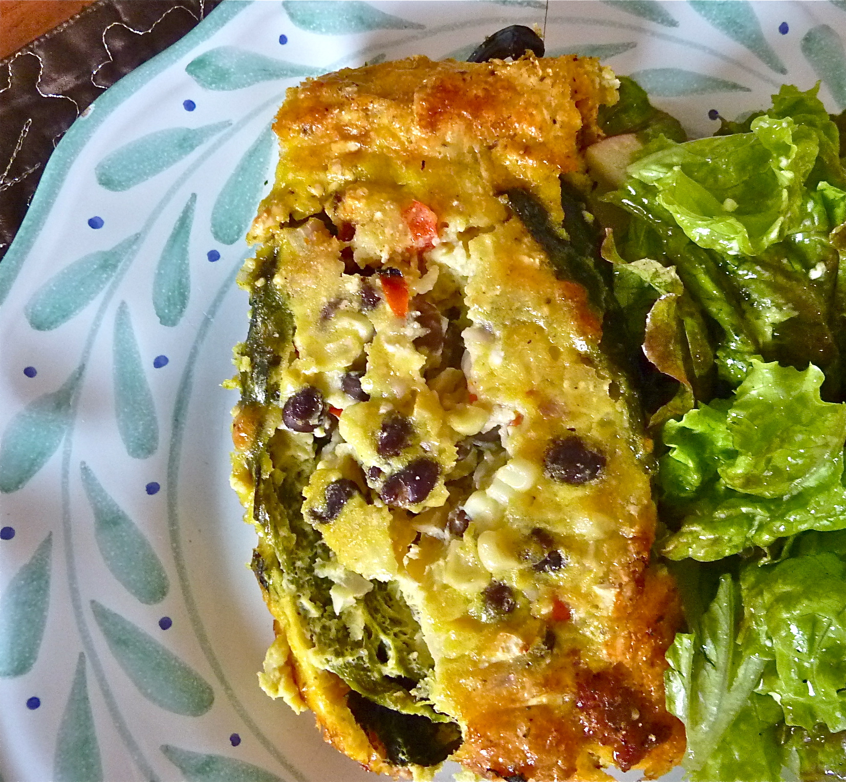 Chiles Rellenos Frittata Style