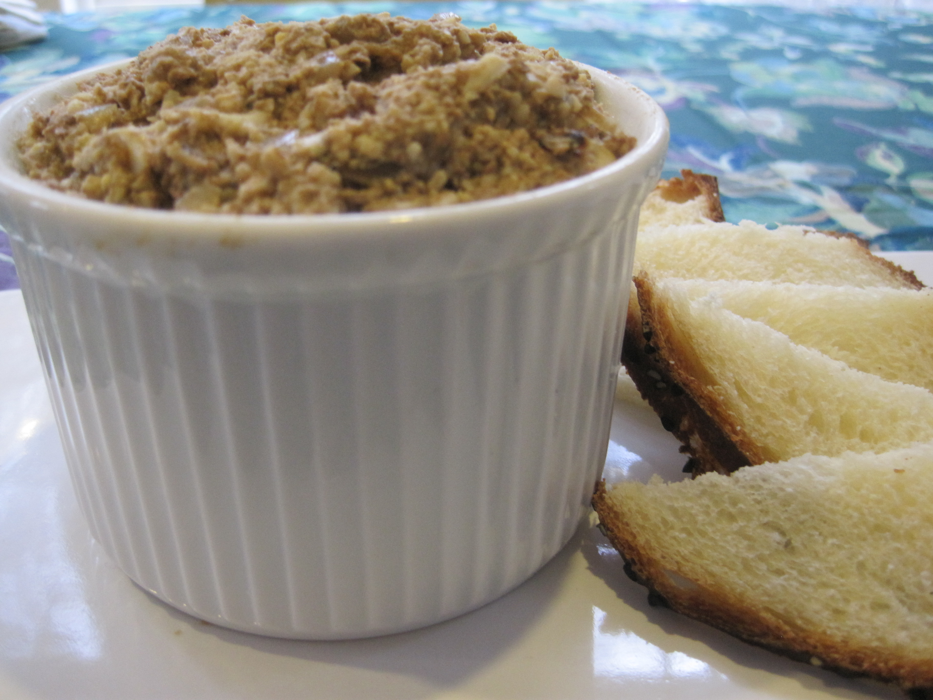 Not My Grandmother's Chopped Chicken Liver