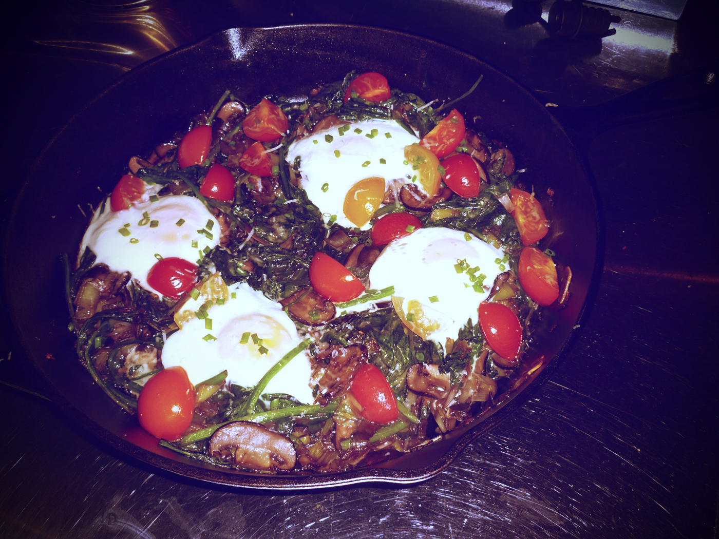 Country Baked Eggs