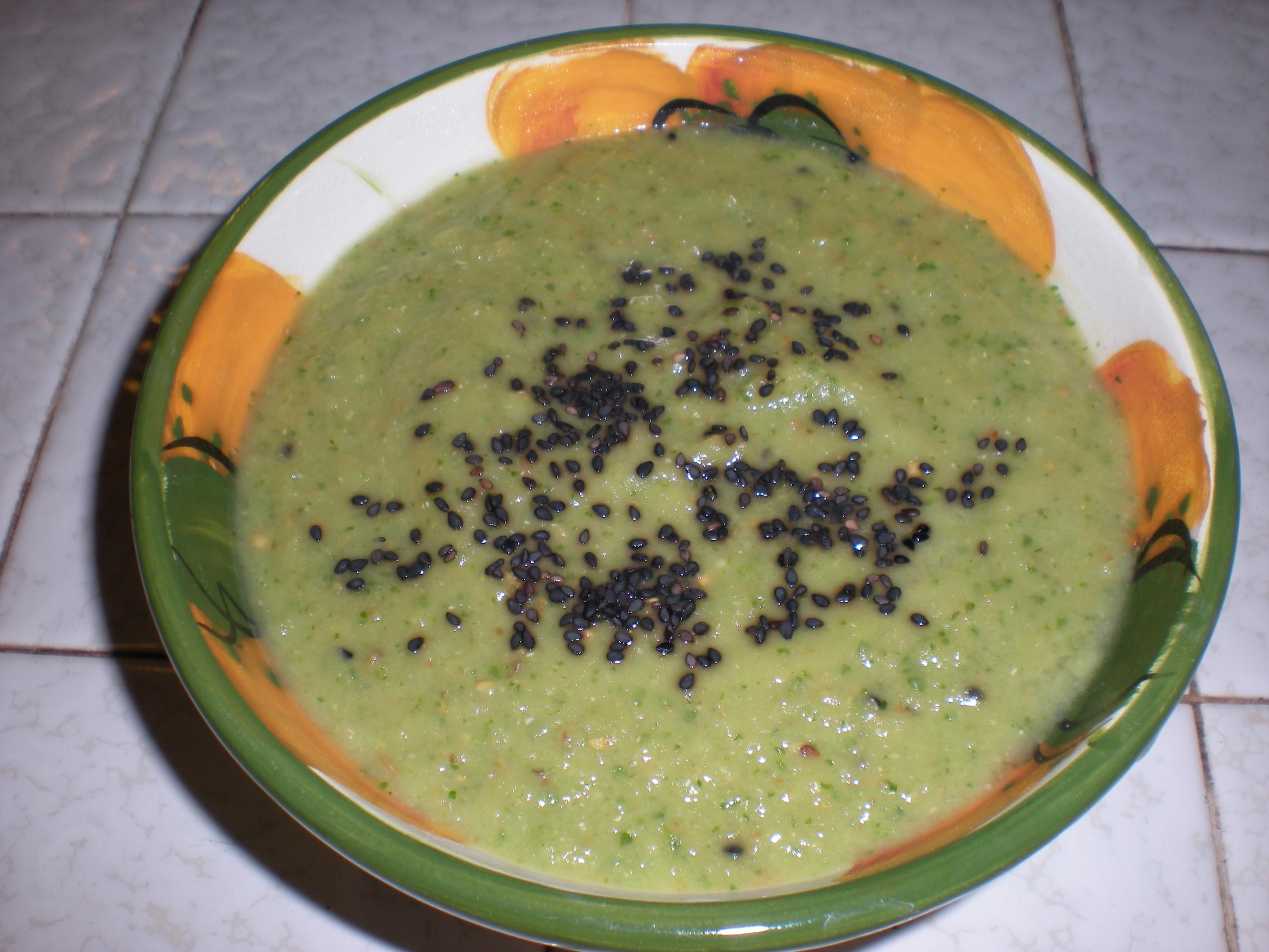 Creamy Baba Ganouj soup