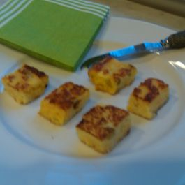 Polenta Cheese Bites