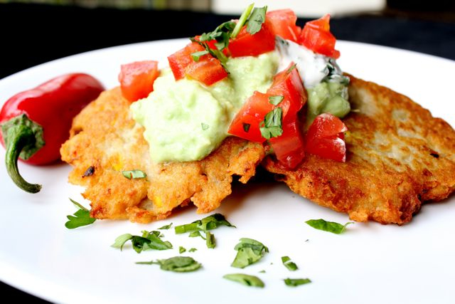 Mexican Potato Latkes