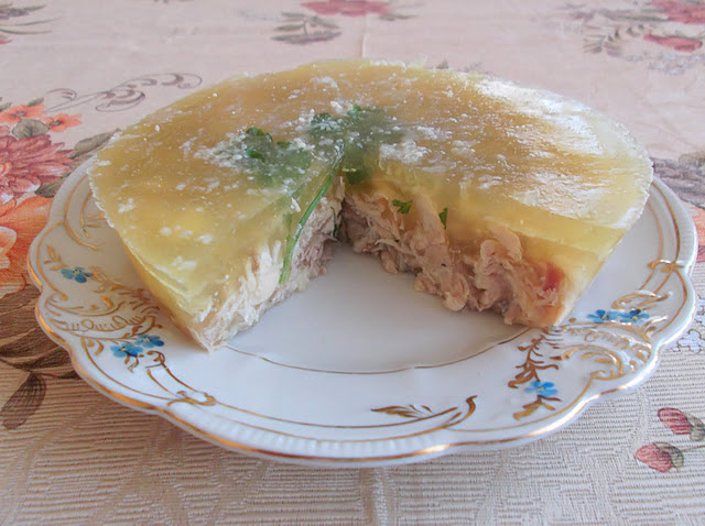 Holiday Chicken Aspic