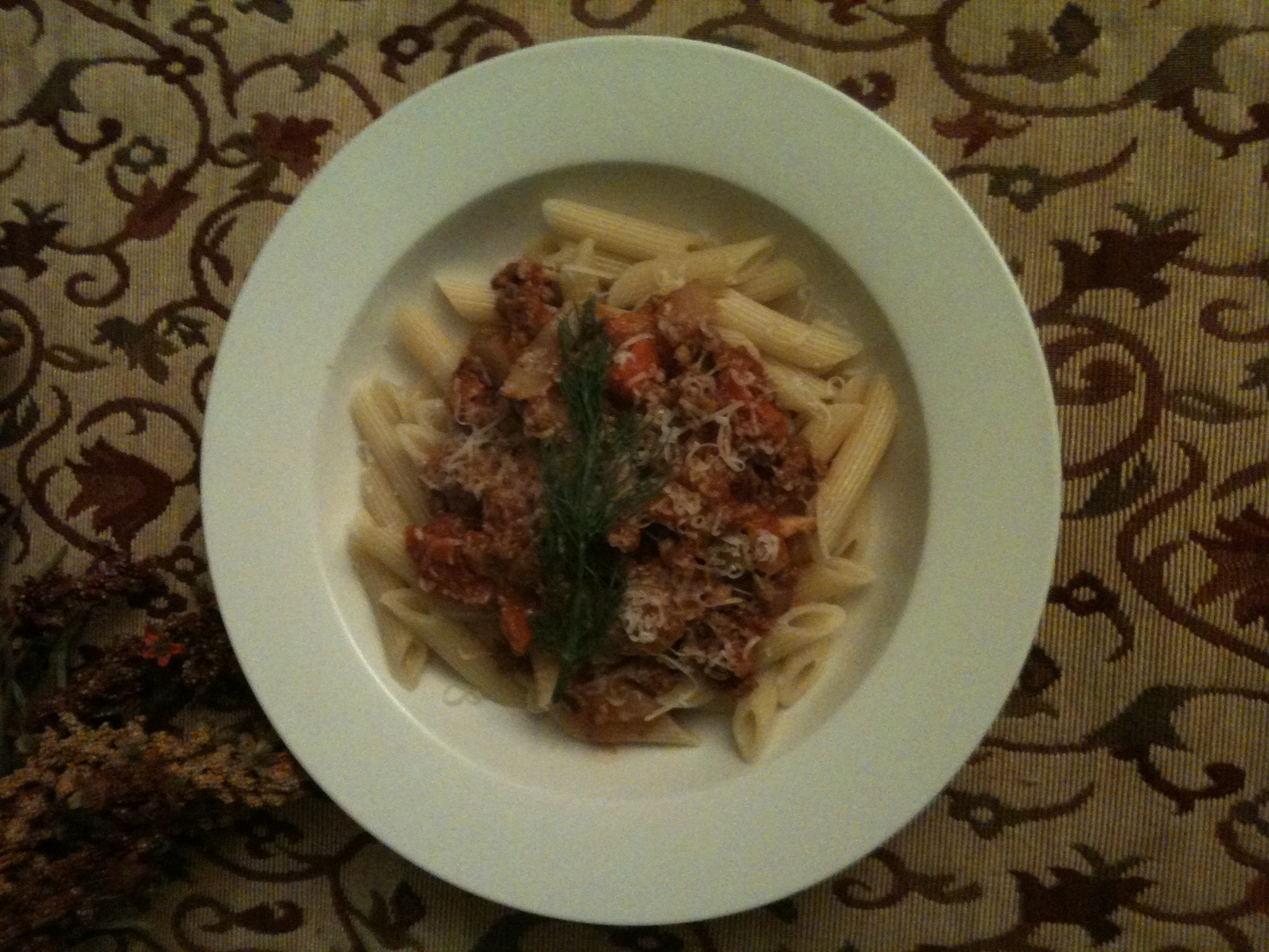 Pork and Fennel Ragout