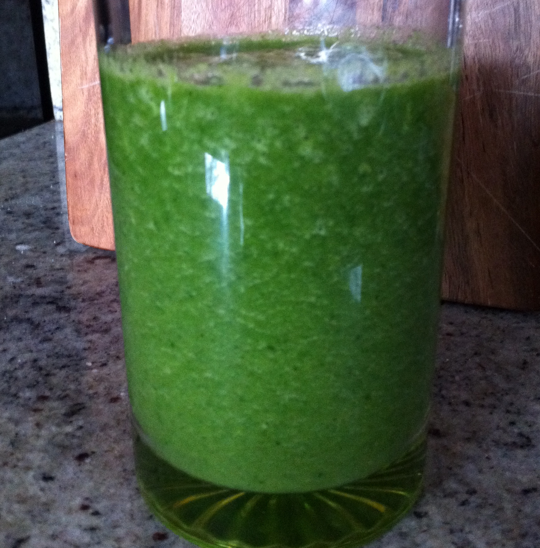Green Smoothie (shh...there's kale in it)