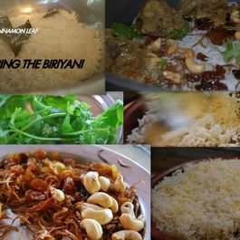 LAYERED CHICKEN BIRYANI