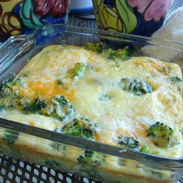 Manchego, Cheddar and Broccoli Frittata