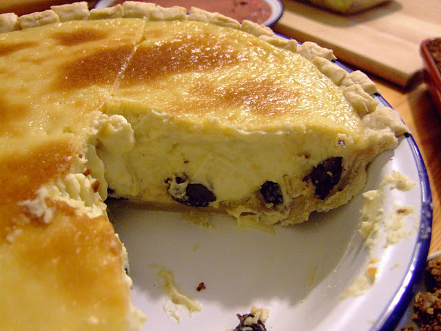 Rum Raisin Pie