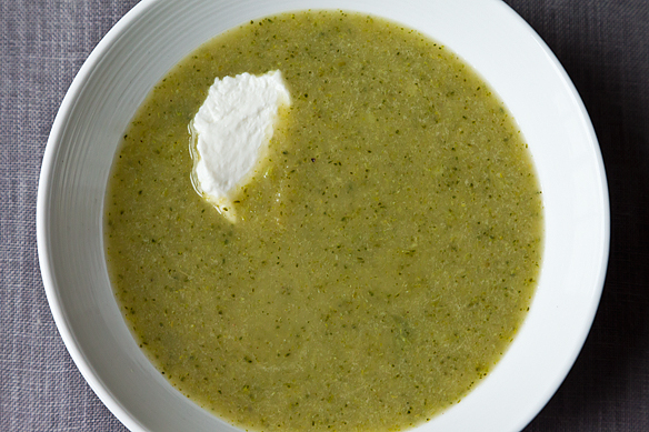 Broccoli Apple Soup on Food52