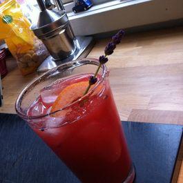 Huey, Dewey, and Louie - vodka, watermelon and grapefruit