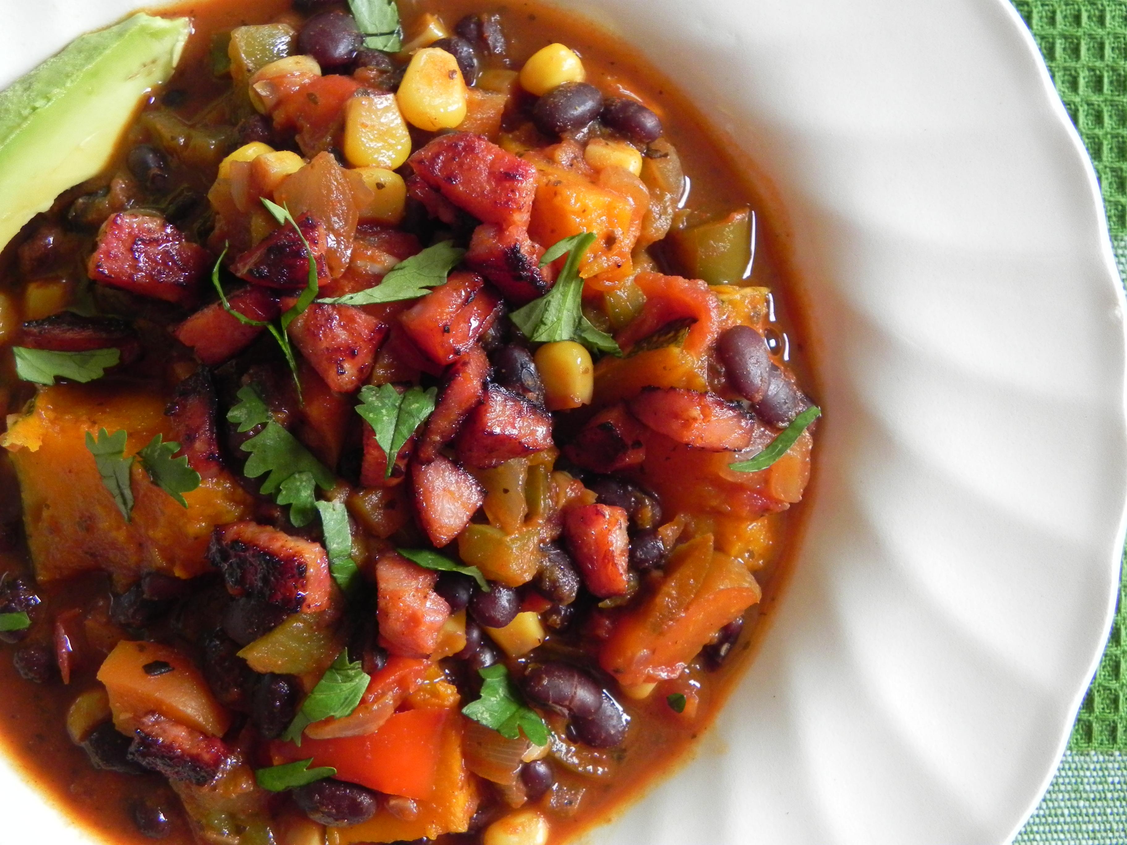 Veggie-Packed Black Bean Chili
