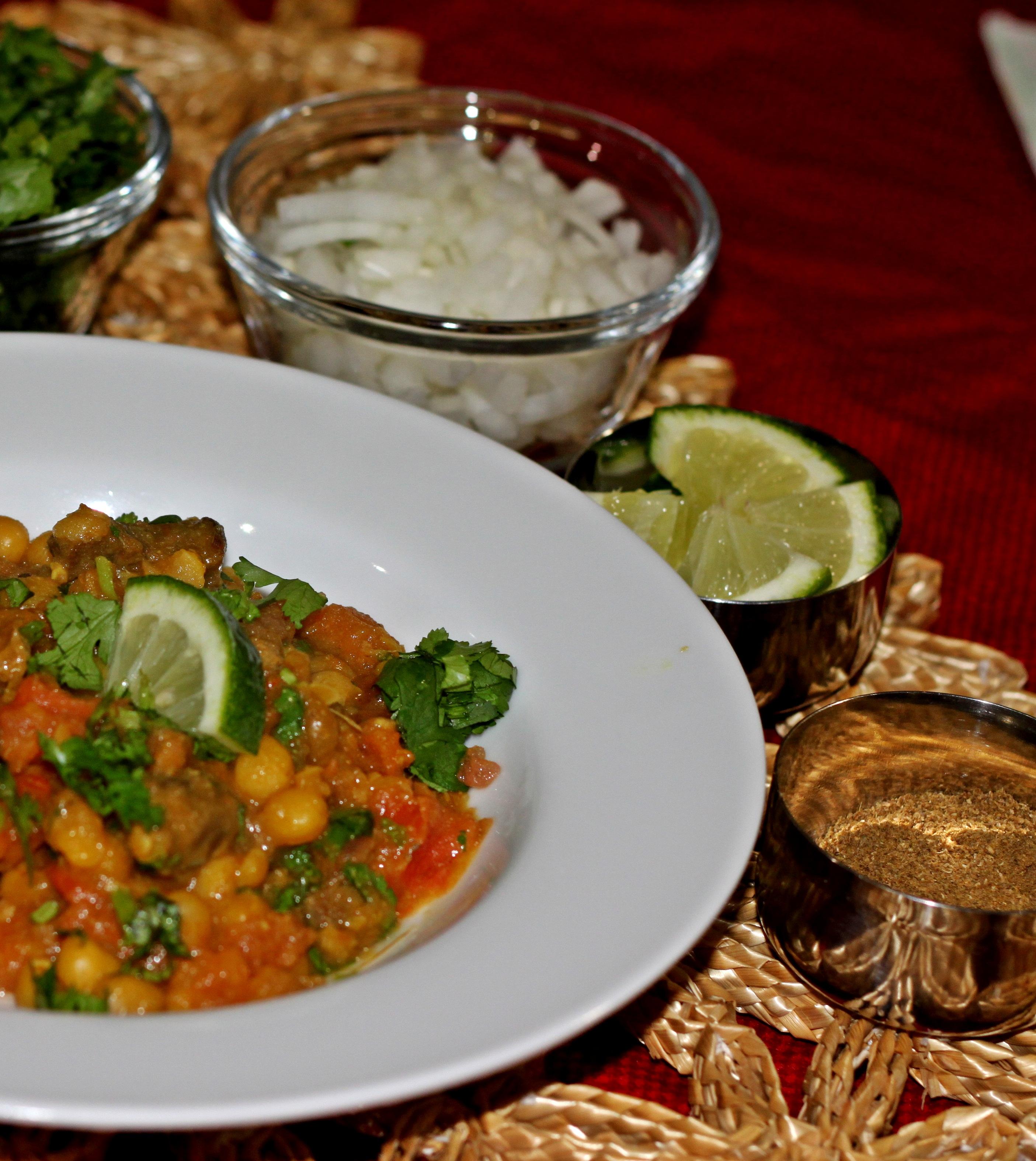 Slow Cooked Bengali Lamb Chili