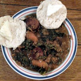 Slow Cooker Lentil & Sausage Stew