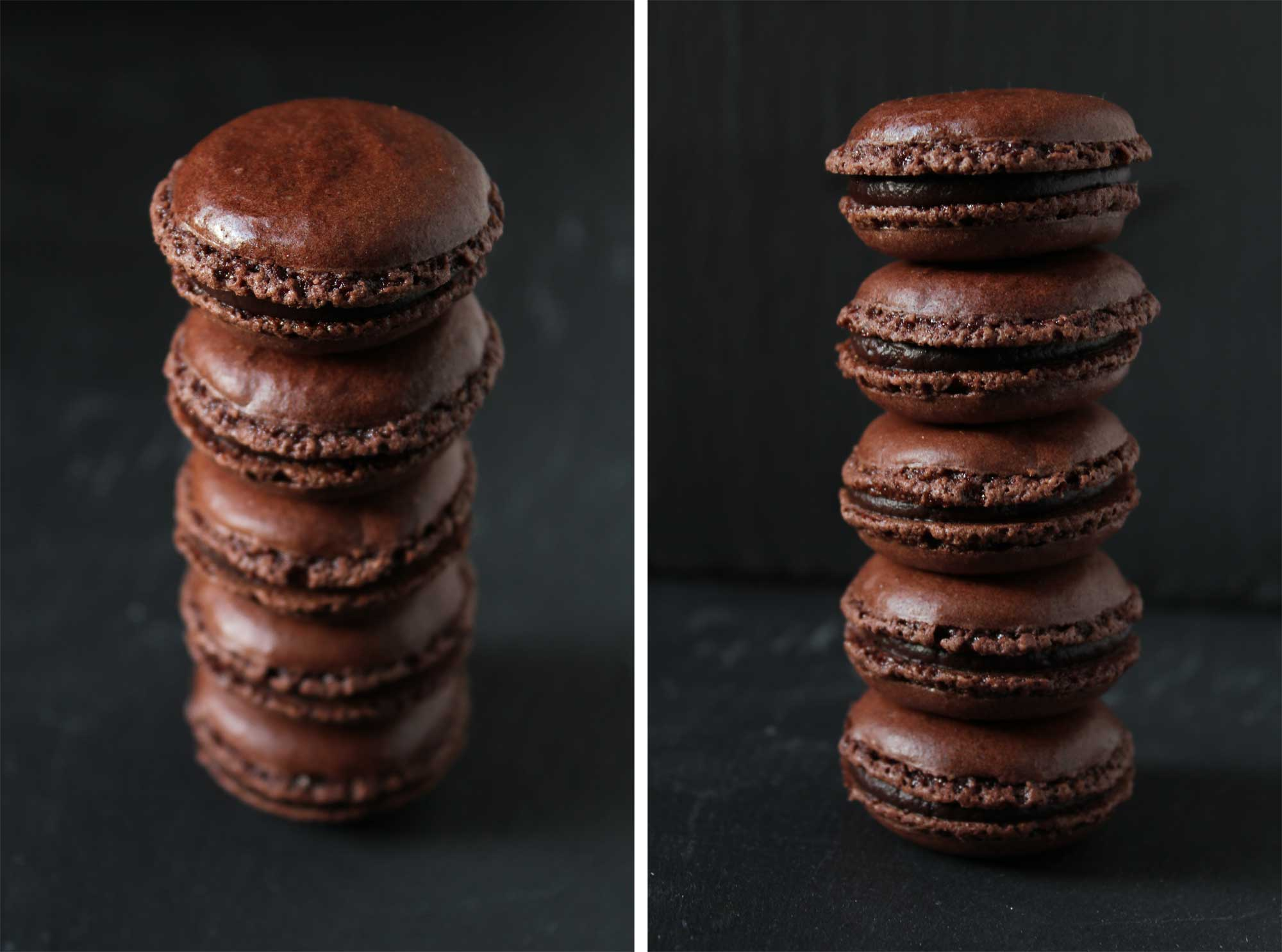 Tonka & Chili Chocolate Macarons recipe on Food52.com