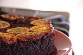 Chocolate Chili Arbol Spice Cake