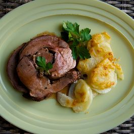 Sunday Leg of Lamb
