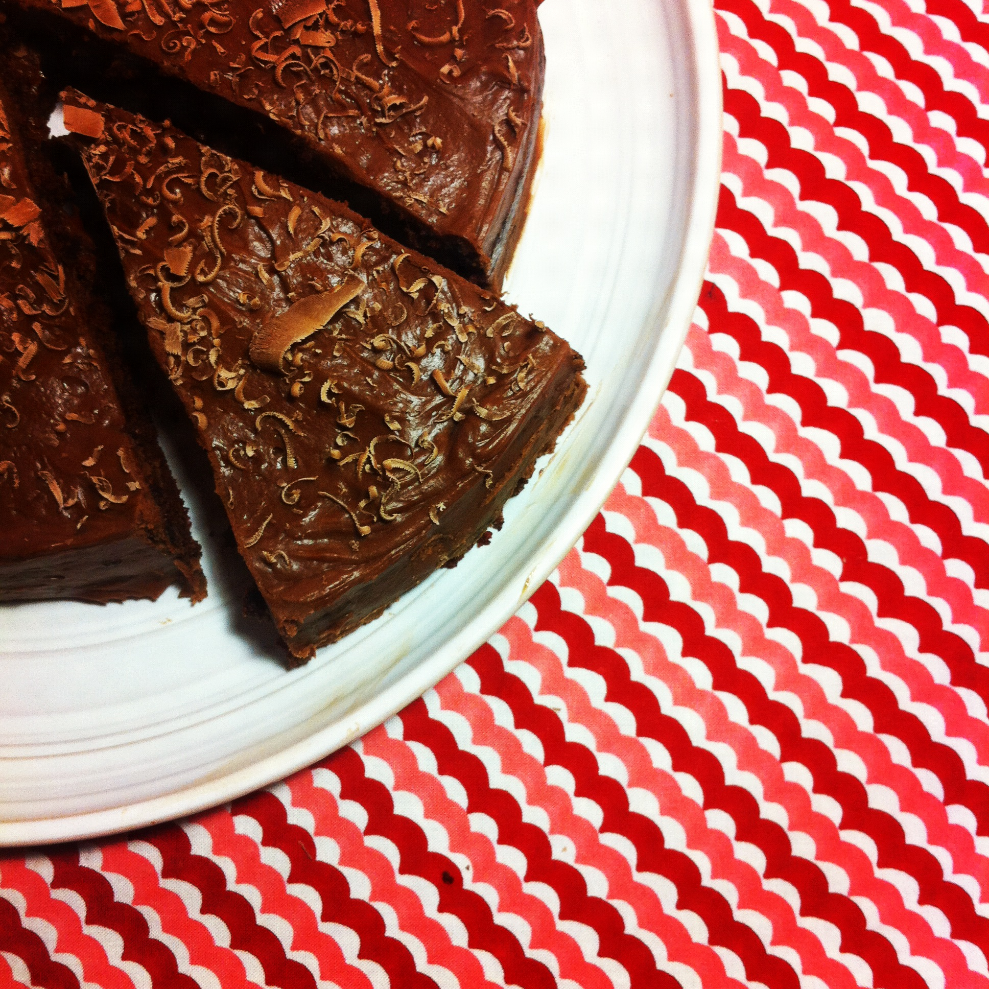 Chocolate Cake with Biscoff Ganache
