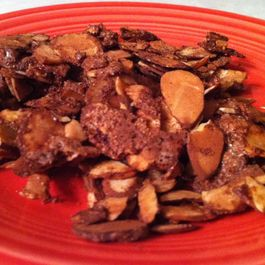 Cinnamon-Cocoa Baked Almonds