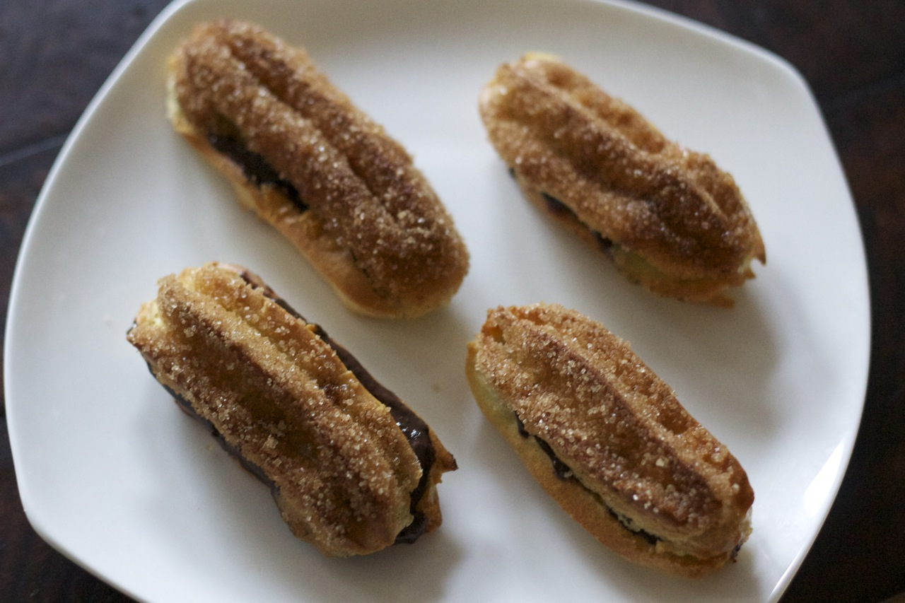 ... -inspired Eclairs with Spicy Chocolate Pastry Cream Recipe on Food52