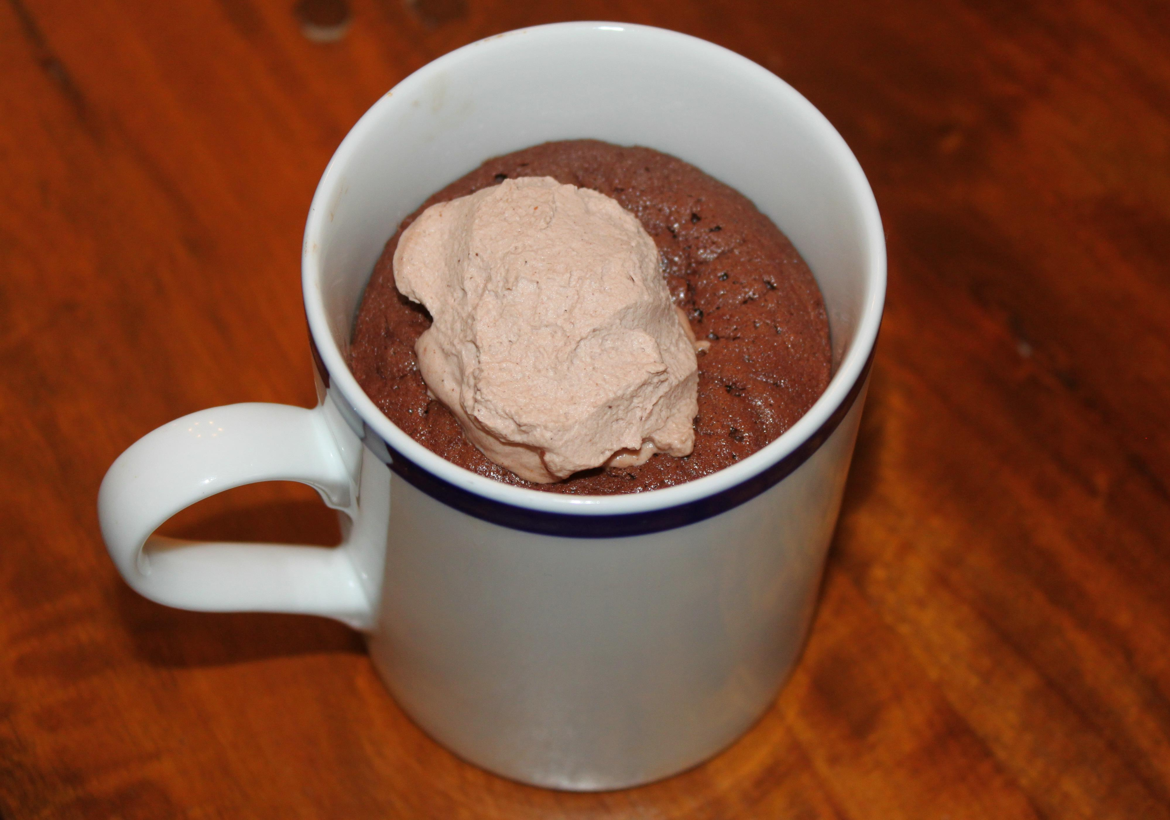 Baked Hot Chocolate with Star Anise and Orange