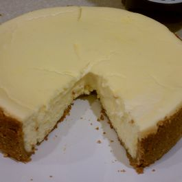 Clementine Almond Cheesecake