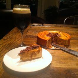Chipotle Sweet Potato Cheesecake