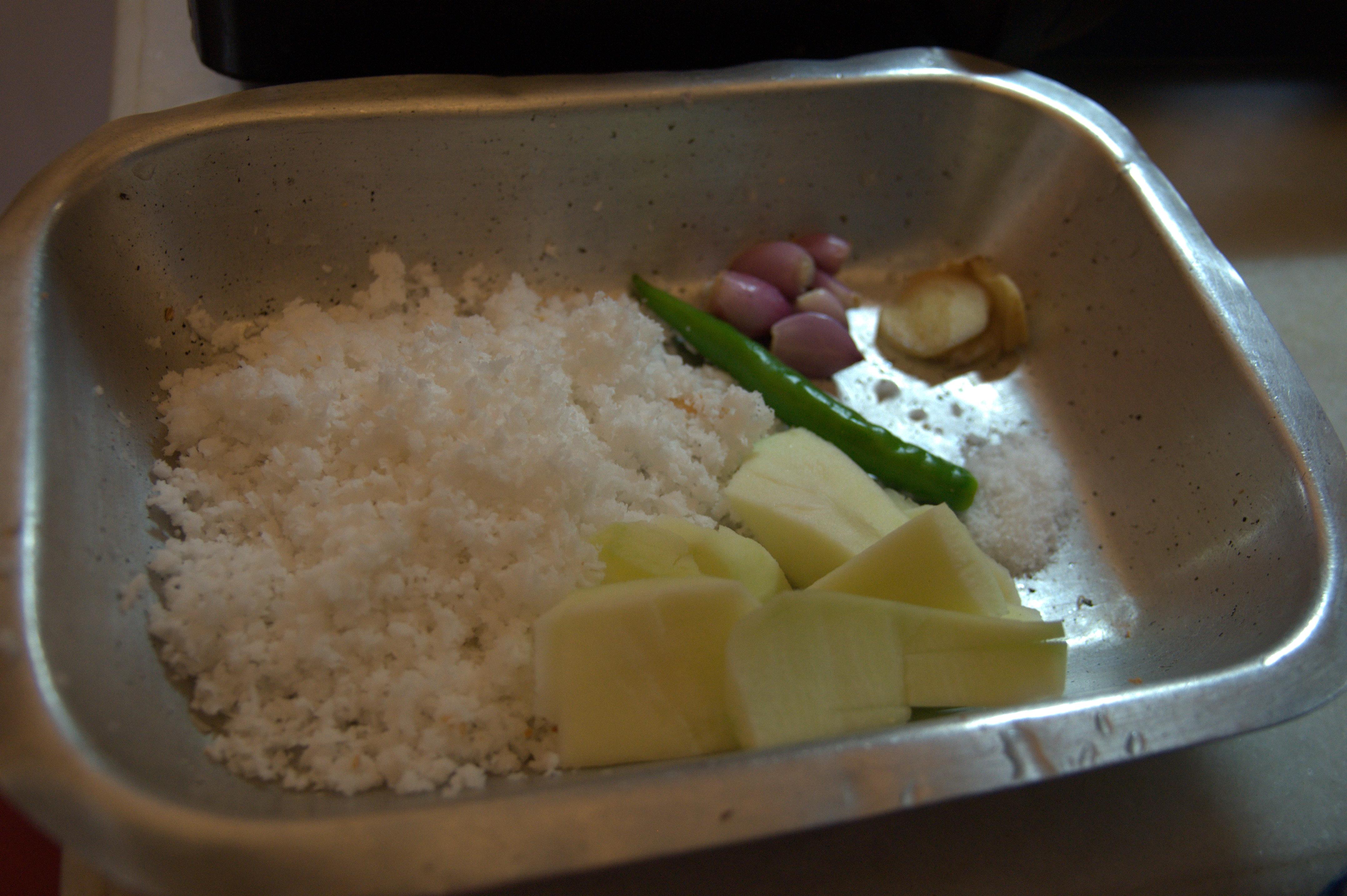 Mango Coconut Chutney