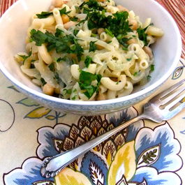 Mediterranean mac and cheese