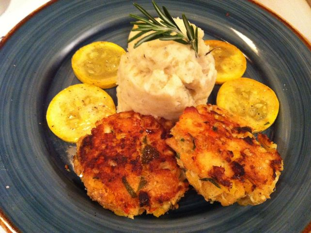 Fall in love crab cakes