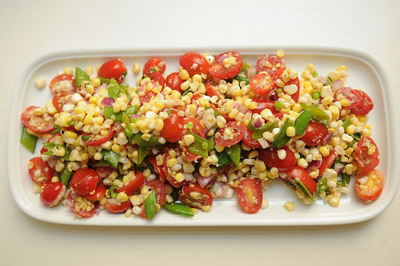 Dilled, Crunchy Sweet- Corn Salad with Buttermilk Dressing by creamtea