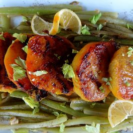 Sauvignon and Lemon Braised Celery with Roasted Golden Beets and White Balsamic
