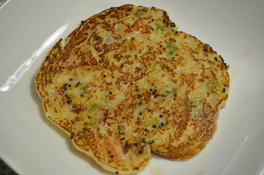 Celery Semolina Pancakes