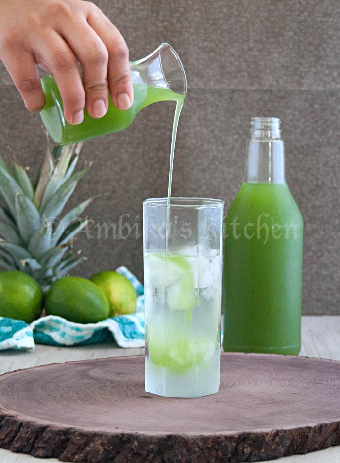 Kiwi Pineapple & Lime Sharbat