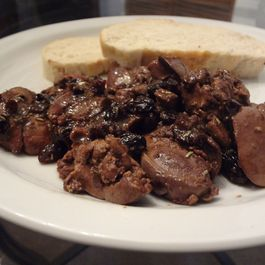 Chicken_livers_with_maple_raisin_butter_sauce