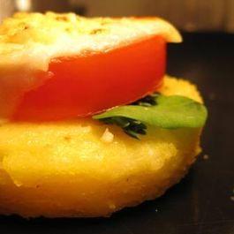 Individual Fresh Polenta Parmesan