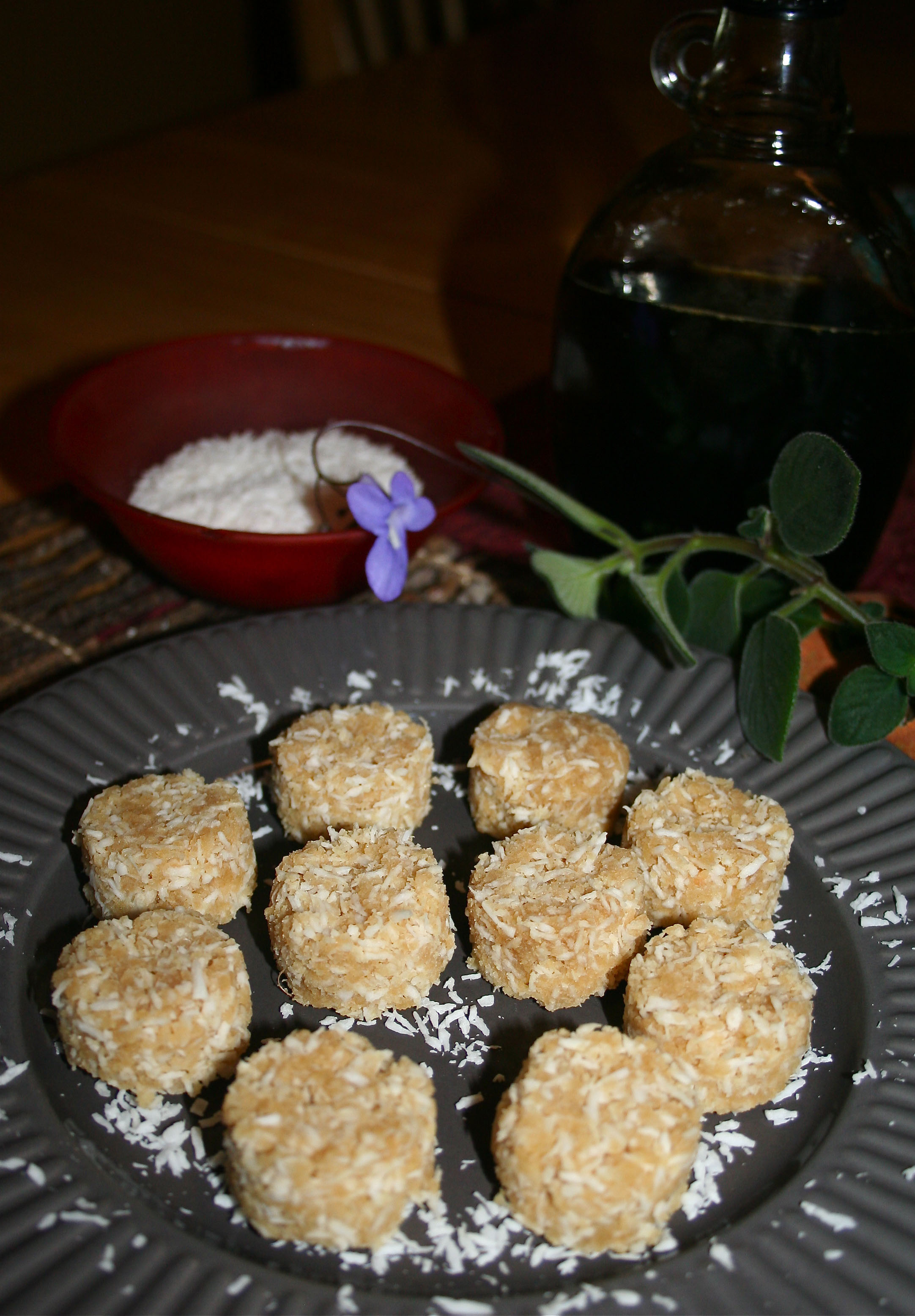 Raw Vegan Coconut Macaroons